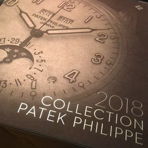 PATEK PHILIPPE 2018 COLLECTION CATALOG
